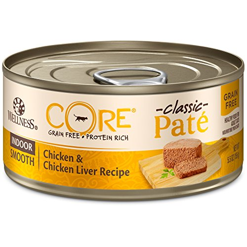 Wellness CORE Classic Pate Indoor Formula Chicken and Chicken Liver wet pate cat food