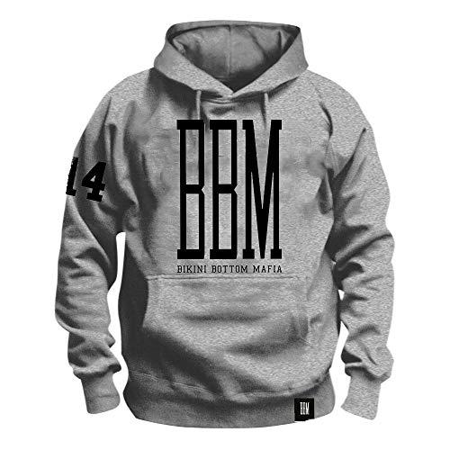 \m/-\m/ SPONGEBOZZ - BBM Logo - Grey - Kapuzenpullover/Hoodie Größe M