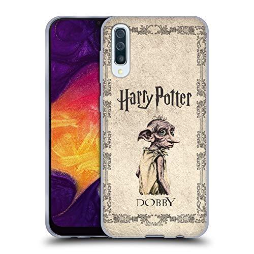 Head Case Designs Ufficiale Harry Potter Creatura Dobby House Elf Chamber of Secrets II Cover in Morbido Gel Compatibile con Samsung Galaxy A50 (2019)