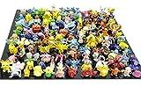 Generic 1 Complete Set Per 144pcs Pokemon Action Figures Multicolor, 144pcs by Generic