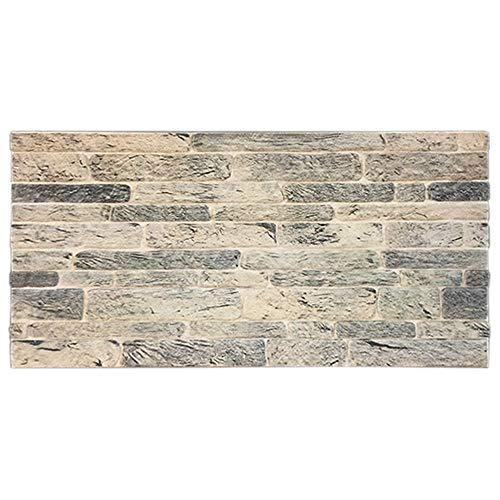 IZODEKOR Wandverkleidung Steinoptik Styropor 3D Wandpaneele - Verblender Steinoptik für Küche, Badezimmer, Balkon, Schlafzimmer, Wohnzimmer, Küchenrückwand und Teras | Antike Spuren