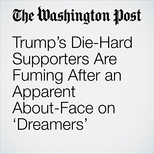 Trump's Die-Hard Supporters Are Fuming After an Apparent About-Face on 'Dreamers' copertina