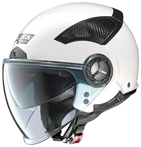 NOLAN N33 EVO CLASSIC METAL WHITE L