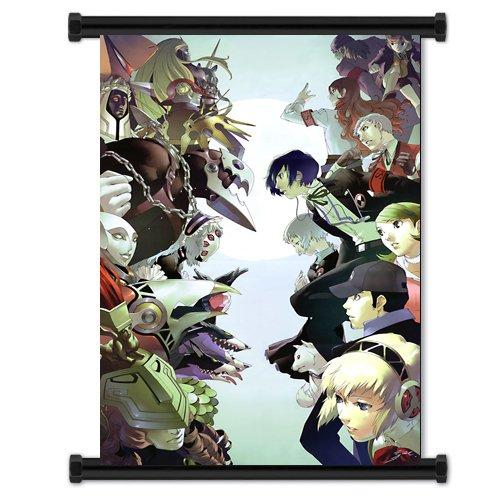 Tensei Shin Megami persona 3 gioco Tessuto scorrimento a parete poster (32 x 42) pollici