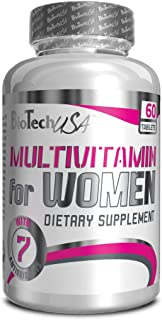 Biotech USA - Multivitamin for Women. 60 comprimidos (Pack 2 ud.)