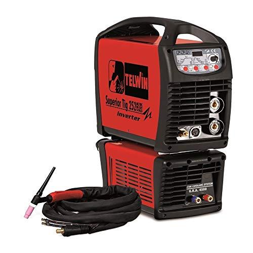 TELWIN TE-816119 - Soldador inverter superior tig 252 ac/dc hf/lift vrd aqua