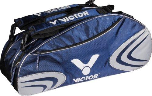 Victor V-Multi Thermo 9032-Borsone sportivo, colore blu/bianco/argento, 74 x 35 x 32 cm