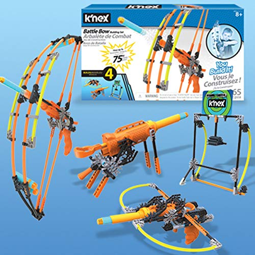 K'NEX K-Force Battle Bow Build and Blast Set
