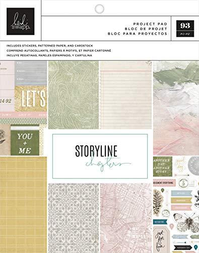 Heidi Swapp 315306 Storyline CHAP PROJE SCRAPBOOKR, The Scrapbooker, 106 Teile, Einheitsgröße