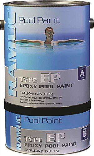 REPUBLIC POWERED METALS GIDDS-560877 Ramuc Epoxy Pool Paint Kit Dawn Blue 1 gallon