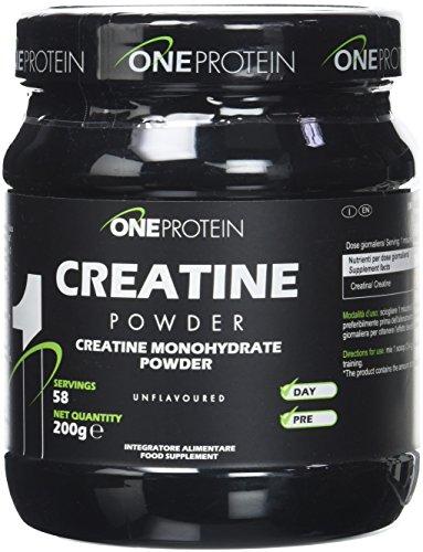 Creatine Powder integratore alimentare di creatina monoidrato in polvere 200 grammi