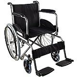 SEGURA: silla de ruedas manual con acabado en acero y tejido ignífugo lo que aporta mayores garantías y más durabilidad FÁCIL DE TRANSPORTAR: al ser una silla de ruedas plegable permite rápidos desplazamientos y fácil guardado MUY CÓMODA: con asiento...