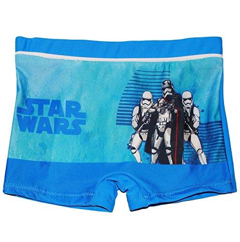 alles-meine.de GmbH Badehose / Badeshorts -  Star Wars  - Größe 4 bis 5 Jahre - Gr. 110 bis 116 - für Jungen Kinder Badepants - Boxershorts Shorts mit Bein - Pants - Stormtroop..