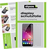 dipos I 2X Schutzfolie matt kompatibel mit Oukitel K6000 Plus Folie Bildschirmschutzfolie