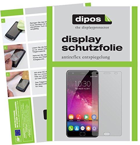 dipos I 6X Schutzfolie matt kompatibel mit Oukitel K6000 Plus Folie Bildschirmschutzfolie