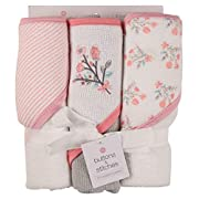 Buttons and Stitches Baby Boys Infant 3 Pack Hooded Towel