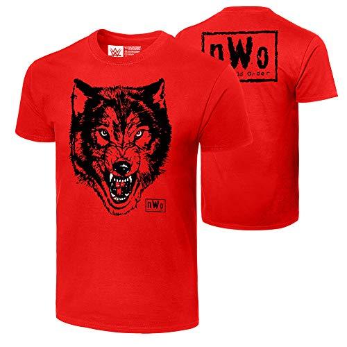WWE Authentic Wear NWO Wolfpac Wolf T-Shirt Black Large