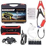 Yunso 89800mAh 4 USB portátil coche Jump Starter Pack Booster Cargador Batería Power Bank