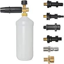 BEARFORCE Professional Adjustable Snow Foam Lance Foam Nozzle Foam Cannon with Quick Release Connector 1/4