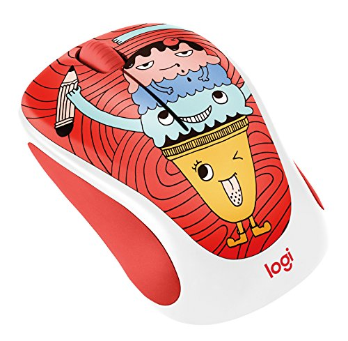Doodle Collection - M238 Wireless Mouse - Triple Scoop - 2.4GHZ - N/A - EMEA