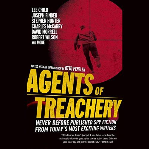Agents of Treachery audiobook cover art