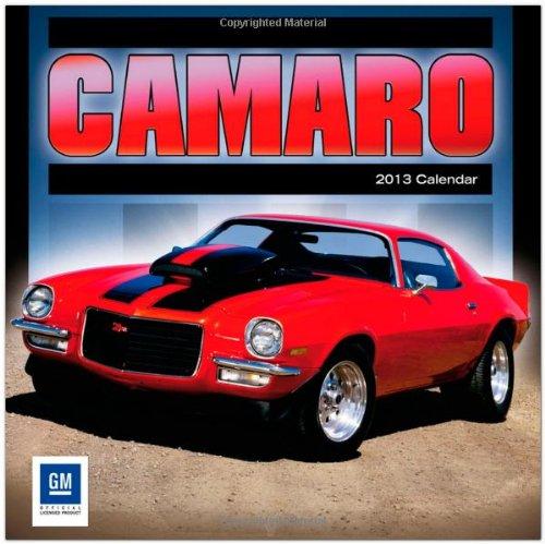 Camaro 2013 - Original BrownTrout-Kalender