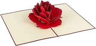 Origamo QU074-Biglietto di Auguri,Quel Mazzolin di Fiori,in Filigrana di Carta,Eseguito a Mano