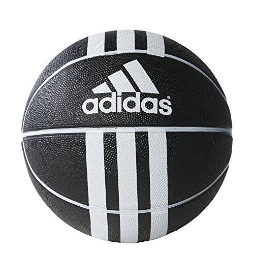 adidas Erwachsene Fußball 3 Stripes Rubber X, Black/White, 7, 279008