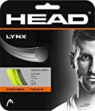 Head Lynx Tennis String Set (Neon Yellow, 17 Gauge)