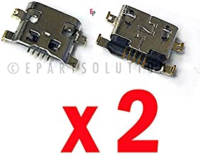 ePartSolution_2X USB Charger Charging Port Dock Connector USB Port for Alcatel One Touch Fierce 2 7040T 7040N 7040 Replacement Part USA Seller