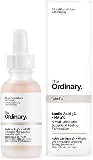 The Ordinary Lactic Acid 5% + Ha 2% 30ml - A Mild Lactic Acid Superficial Peeling Formulation