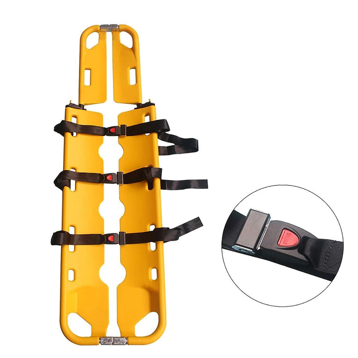 ピアース必要としているヤングX線ヘッドホルダーへの伸縮式折りたたみストレッチャー、プラスチックシャベルストレッチャー医療救急車シャベル
