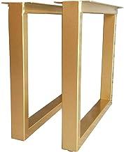 zwhw Diy Heavy-Duty Smeedijzeren tafelpoten 2 stuks, 50 * 45cm, 50 * 70cm, kan 600 kg dragen, geschikt voor industriële mo...