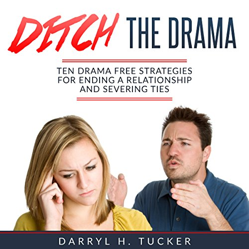 Ditch the Drama audiobook cover art