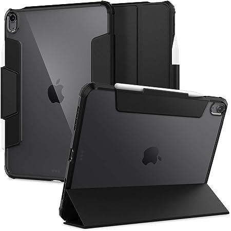 Spigen Ultra Hybrid Pro Designed for iPad Air 4th Generation 10.9 Inch Case with Pencil Holder (2020) - Black