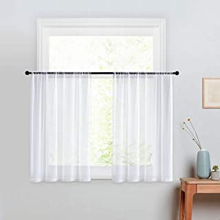 Best small white curtains Reviews