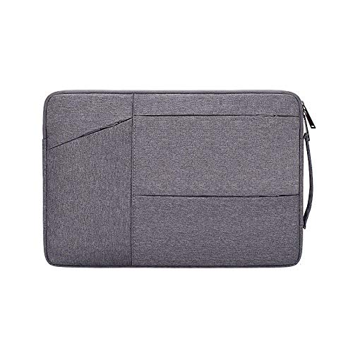 Hjkl Fashion Sleeve Cover For Matebook D14 D15 13 14 X 2020 Case Laptop Bag Fits Macbook Air Pro M1 13 15 16 (Color : Dark Grey, Size : Macbook 11-12 inch)
