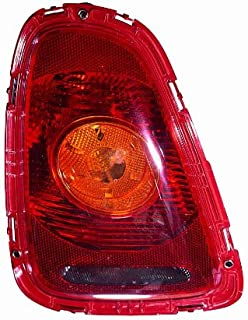 Depo 882-1908L-AQ-YR Mini Cooper Driver Side Replacement Taillight Assembly