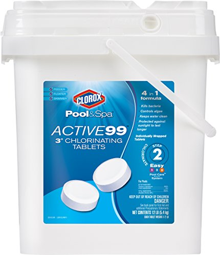 "Clorox Pool&Spa Active 99 3"" Chlorinating Tablets 12 lb"