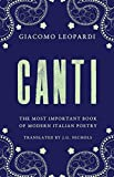 Canti: The Most Important Book of Modern Italian Poetry