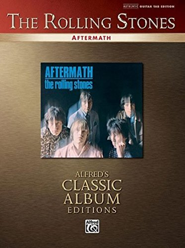 The Rolling Stones: Aftermath: Authentic Guitar TAB Sheet Mu