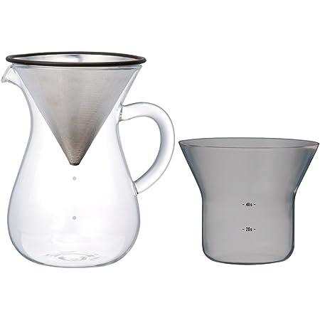KINTO (キントー) SCS コーヒーカラフェセット 4cups ステンレス 27621