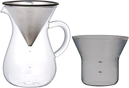 featured product Kinto 1.1 Liter Carafe Coffee Set with Strainer No Need for Paper Filters