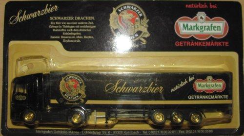 Markgrafen Getränkemarkt Nr.39 - Eisenacher Schwarzbier - MB Actros - Sattelzug