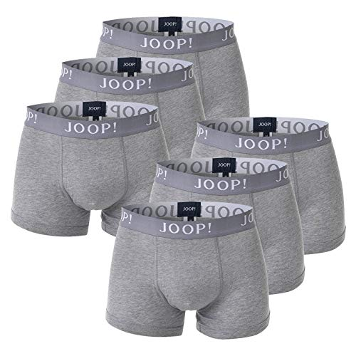 Joop! Herren Boxer Shorts 6er Pack - Fine Cotton Stretch (2X 3er Pack) S M L XL 2XL (Grau (041), 2XL (2X-Large) - 6-Pack)