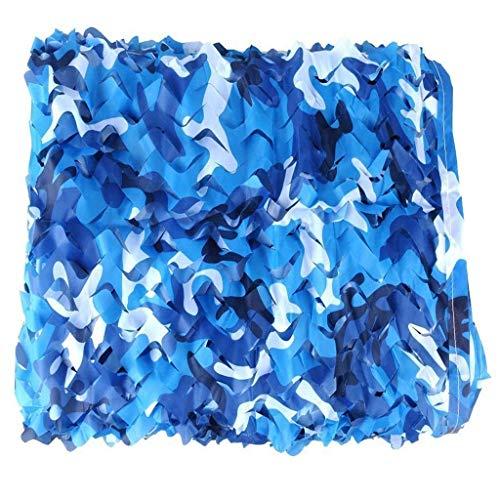 Außen Schatten Ozean-Modus Tarnung Doppel Seil Netz gewoben Oxford Tuch Outdoor-Pool-Sonnenblende Dekoration versteckter Shade Net Multi-Size Optional (Größe: 3 * 4 m) (Größe: 2 * 3m) ZHANGKANG
