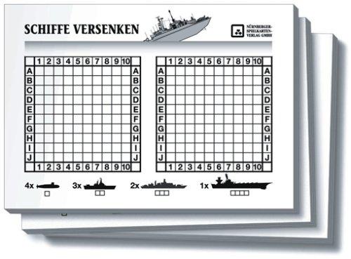 Nuernberger Spielkarten 02719924002 - Schiffe versenken Block