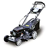 GASOLINE ENGINE - 20-inch, gas-powered push lawn mower with 2.7KW 161cc gasoline Motor delivers enough power to cut through the toughest grass, ideal for smaller yards. ADVANTAGE - Auto walk self-propelled rear wheel drive system that let's you contr...
