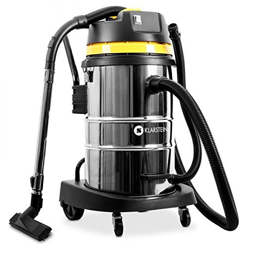 KLARSTEIN IVC-50 2020 Edition - Aspiradora Industrial para seco y húmedo, Doble Motor, Rendimiento 2000W, Filtro HEPA, Tanque 50L, Sin Bolsa, Protección IPX4, 8m de...