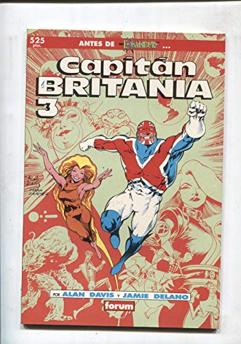 Prestigio volumen 1 numero 19: Capitan Britania
